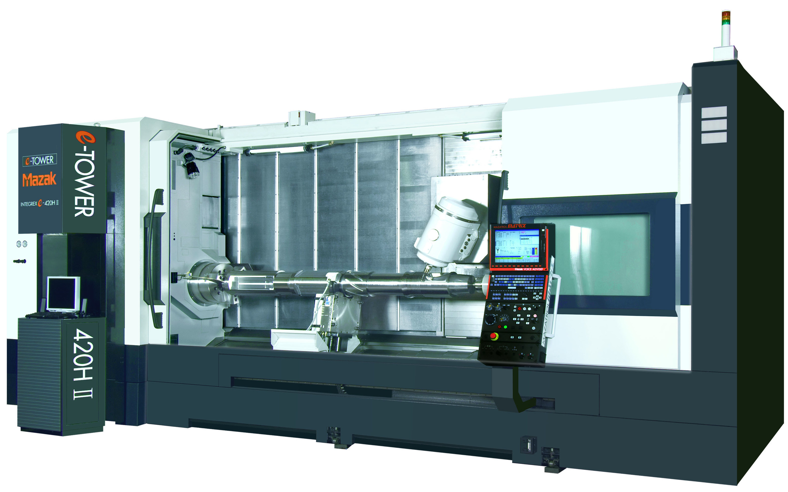 Mazak Features INTEGREX e-420H II Multi-Tasking Machine at