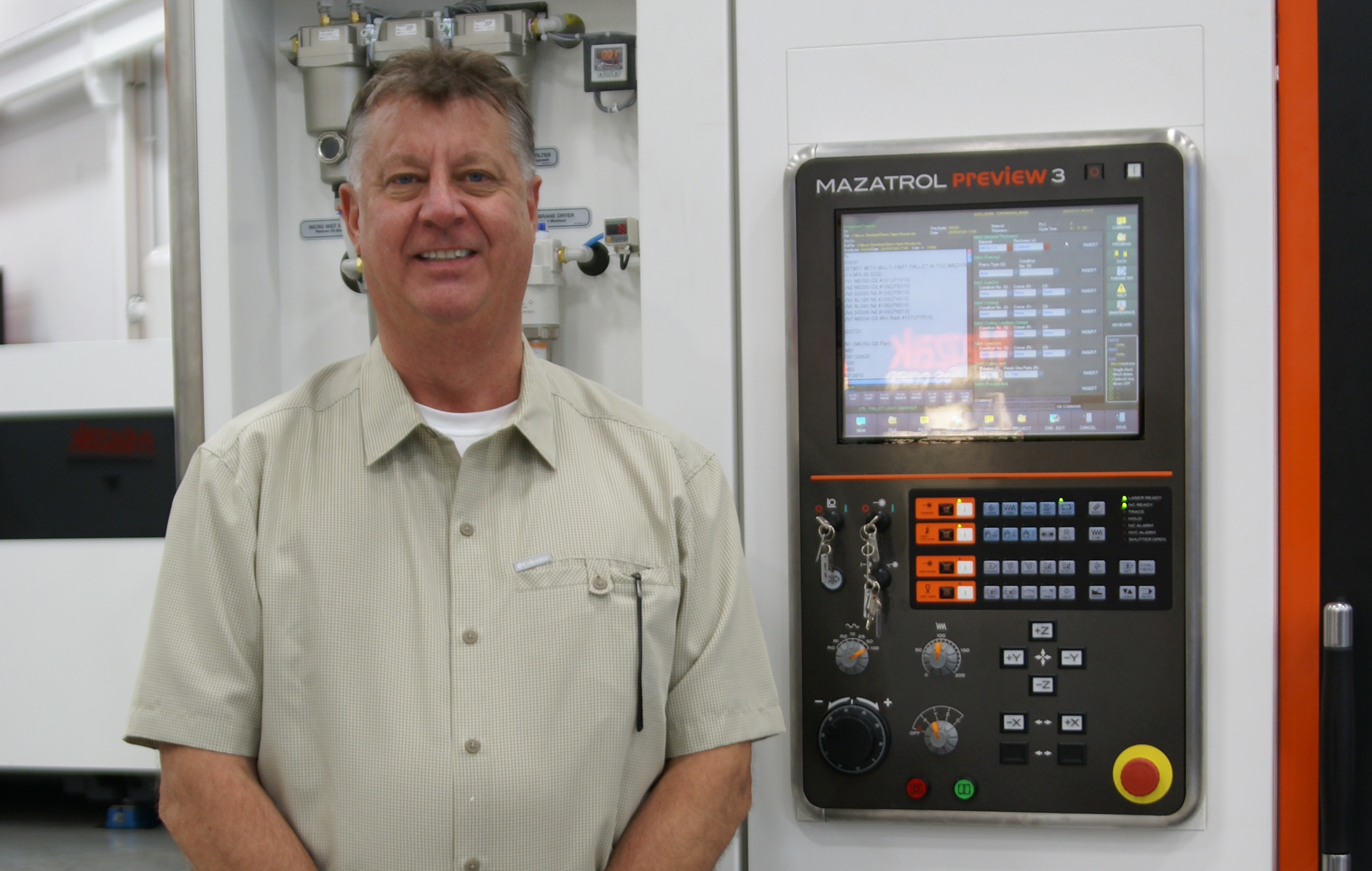 meet charlie zeman mazak optonics corporation s call center provides the customer support concerning machine operation repair or preventative service assistance