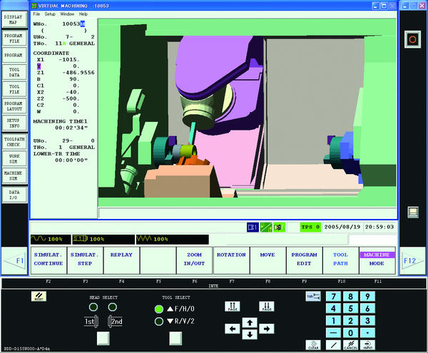 Mazatrol Matrix Cam 2 machine tool technology
