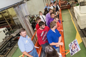 More than 230 students from Northern Kentucky high schools, Gateway Community and Technical College and Cincinnati State College took part in Mfg the Nxt Genr8n – DISCOVER 2013 kick-off event.