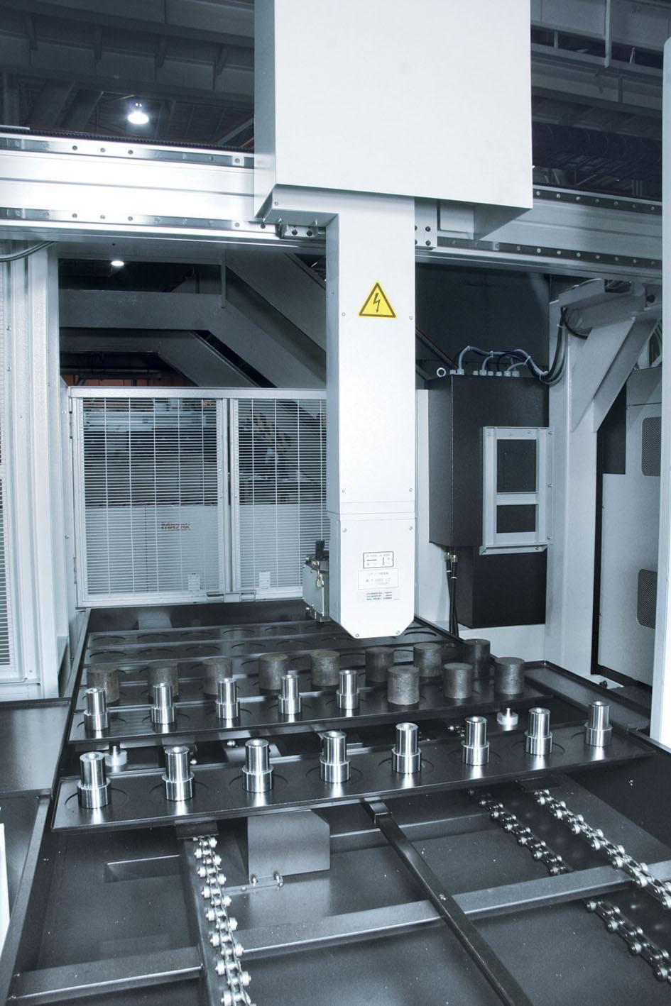 Mazak gantry robots