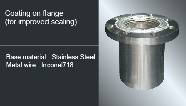 coating on flange