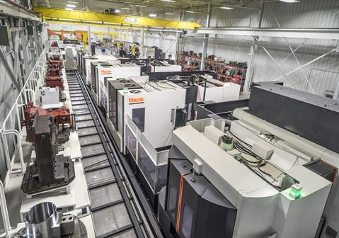 Mazak digitally connected factory